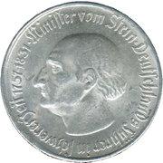 2 millions de marks (Westfalen; Freiherr vom Stein) – revers