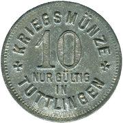 10 Pfennig (Tuttlingen) [Stadt, Württemberg] – revers