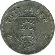 10 Pfennig (Tuttlingen) [Stadt, Württemberg] – avers