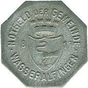 50 Pfennig (Wasseralfingen) [Stadt, Württemberg] – avers
