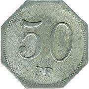 50 Pfennig (Wasseralfingen) [Stadt, Württemberg] – revers