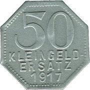 50 Pfennig (Tübingen) [Stadt, Württemberg] – revers