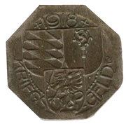 5 Pfennig Oberndorf – revers