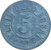 5 pfennig (Waldsee) [Oberamtsstadt Württemberg] – revers