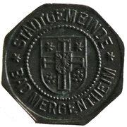 5 Pfennig (Bad Mergentheim) [Stadtgemeinde, Württemberg] – avers