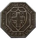 10 Pfennig (Neckarsulm) [Gemeinde, Württemberg] – revers