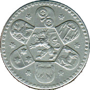 10 Pfennig (Heppenheim) [Kreis, Hessen] – revers