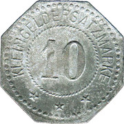10 Pfennig (Nürnberg) (Private, Hessen, Maschinenfabrik Augsburg-Nürnberg] – revers