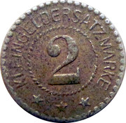 2 Pfennig (Fulda) [Stadt, Hessen-Nassau] – revers