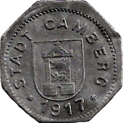 5 Pfennig (Camberg) [Stadt, Hessen-Nassau] – avers
