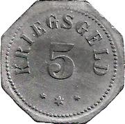 5 Pfennig (Camberg) [Stadt, Hessen-Nassau] – revers