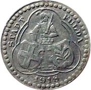 5 Pfennig Fulda [Stadt, Hessen-Nassau] – avers