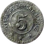 5 Pfennig Fulda [Stadt, Hessen-Nassau] – revers