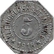 5 pfennig (Hersfeld) – revers