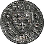 10 Pfennig (Wiesbaden) [Stadt, Hessen-Nassau] – avers
