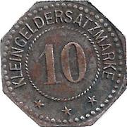 10 Pfennig (Melsungen) – revers