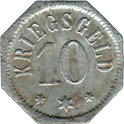 10 Pfennig (Camberg) [Stadt, Hessen-Nassau] – revers