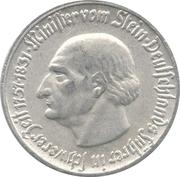 50 Pfennig (Westfalen; Freiherr vom Stein) – revers
