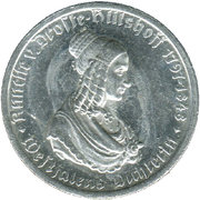 50 Mark (Westfalen) [Provinz, Landesbank Westfalen] – revers