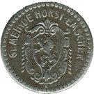 10 Pfennig (Horst-Emscher) [Gemeinde, Westfalen] – avers