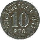 10 Pfennig (Horst-Emscher) [Gemeinde, Westfalen] – revers