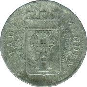 50 Pfennig (Menden) [Stadt, Westfalen] – avers