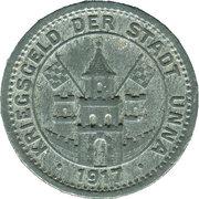 50 Pfennig (Unna) [Stadt, Westfalen] – avers