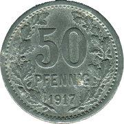 50 Pfennig (Unna) [Stadt, Westfalen] – revers