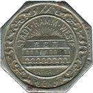 50 Pfennig (Hamm) [Stadt, Westfalen] – avers
