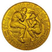 STADT BIELEFELD (GERMAN) GOLDMARK 1923 – revers