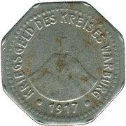 10 pfennig (Warburg) – avers