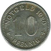 10 pfennig (Lippstadt) – revers