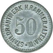 50 Pfennig (Altena im Westfalen) [Private, Westfalen, Stahldrahtwerk Rahmer]] – avers
