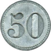 50 Pfennig (Altena im Westfalen) [Private, Westfalen, Stahldrahtwerk Rahmer]] – revers