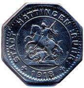 25 Pfennig (Hattingen) [Stadt, Westfalen] – avers