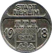 50 Pfennig (Neheim) – avers