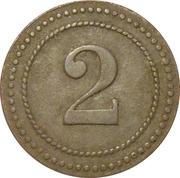 2 Pfennig P.O.W. Camp Coinage - Munster 1 – revers
