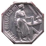 5 pfennig (Bielefeld) – avers