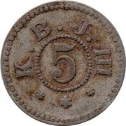 5 (K. B. J. III) – avers