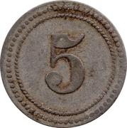 5 (K. B. J. III) – revers