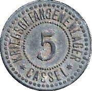 5 Pfennig (Cassel) [POW, Hessen-Nassau] – avers