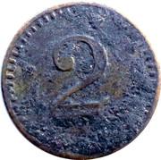 2 Pfennig (Oberrad) [Private, Hessen-Nassau, Familien-Verein] – revers