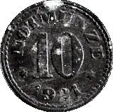 10 Pfennig (Schauenstein) – revers
