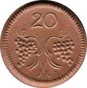 20 Pfennig (Münsterberg) [Stadt, Schlesien] – revers