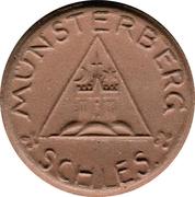 50 pfennig - Münsterberg – avers
