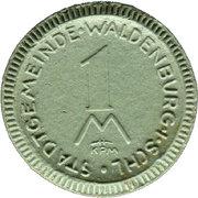 1 Mark (Waldenburg in Schlesien) [Stadt, Schlesien] – avers