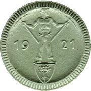 1 Mark (Waldenburg in Schlesien) [Stadt, Schlesien] – revers