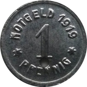 1 Pfennig (Greiffenberg - Notgeld) – avers