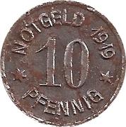 10 Pfennig (Ratibor) – revers