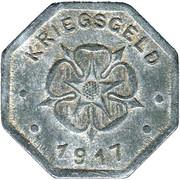 10 pfennig (Lippe) – revers